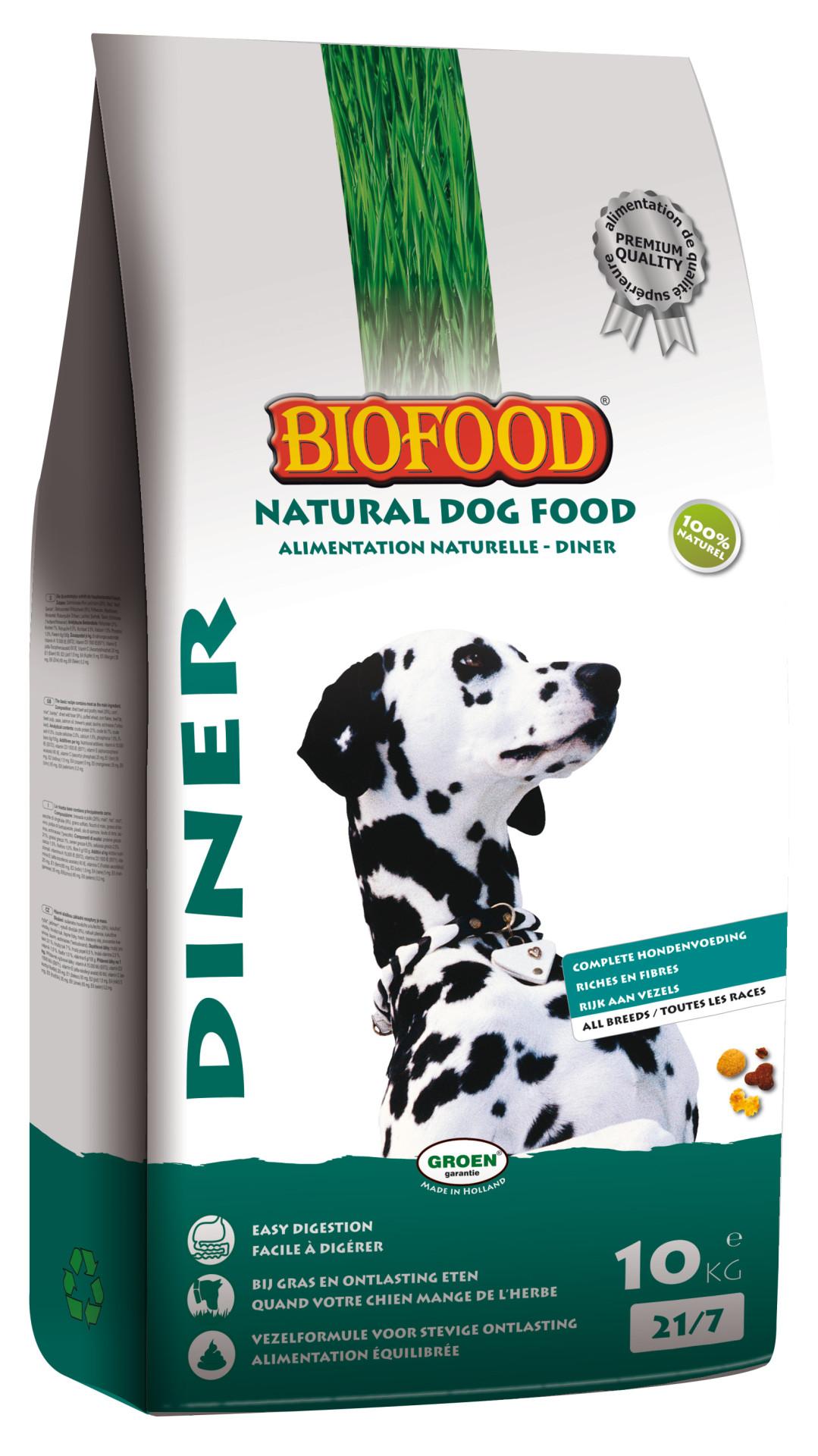 Biofood hondenvoer Diner 10 kg