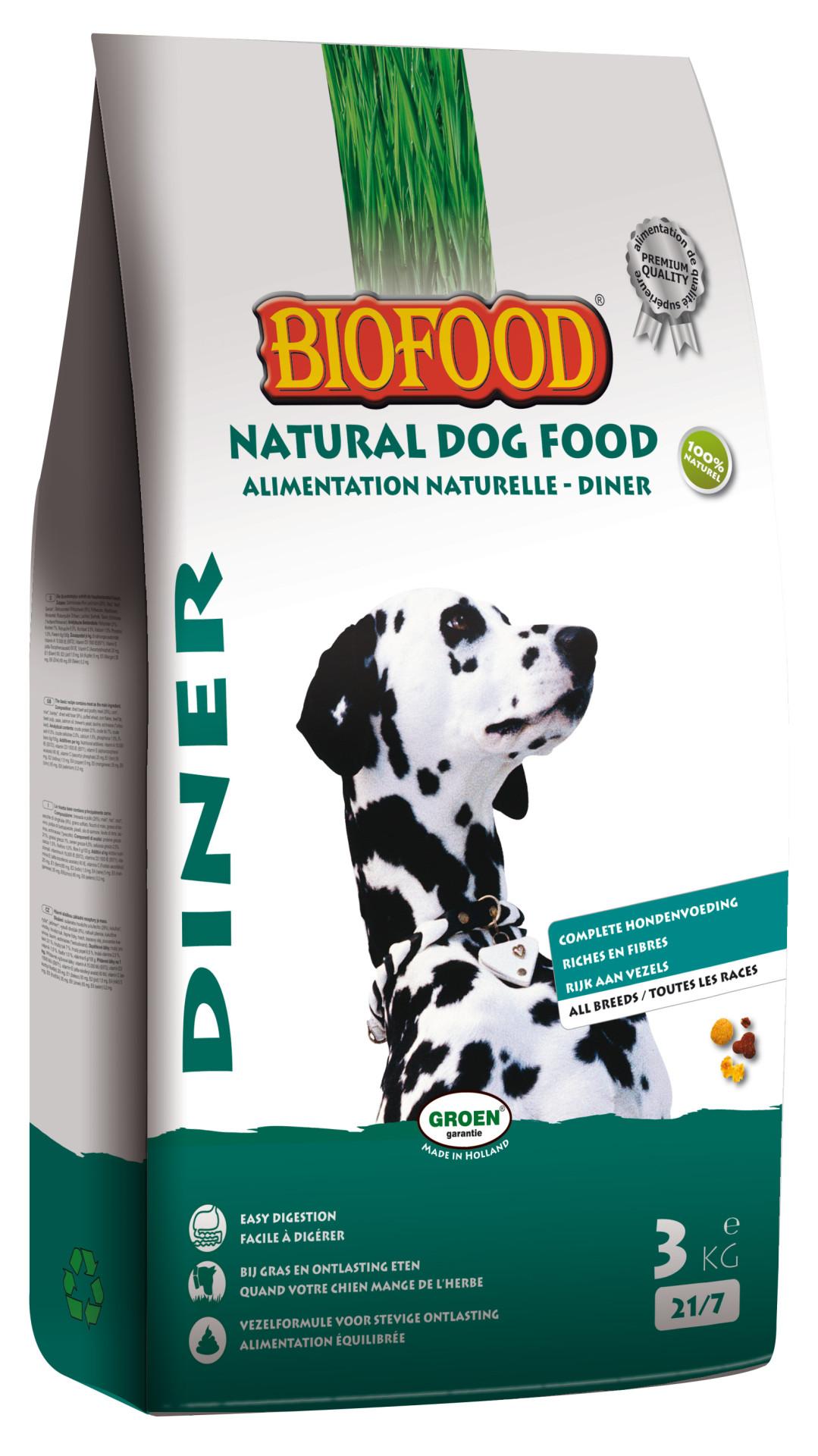 Biofood hondenvoer Diner 3 kg