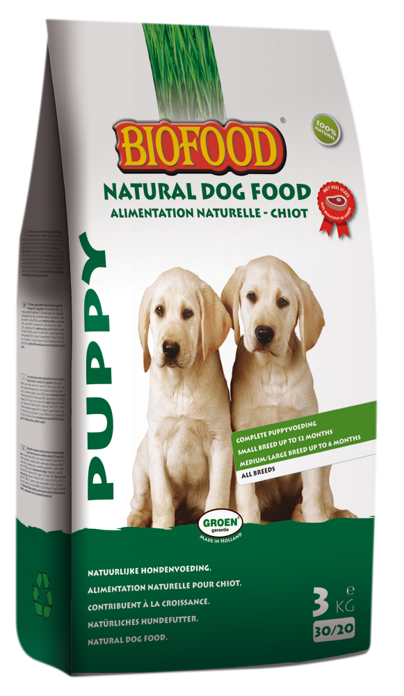 Biofood hondenvoer Puppy 3 kg