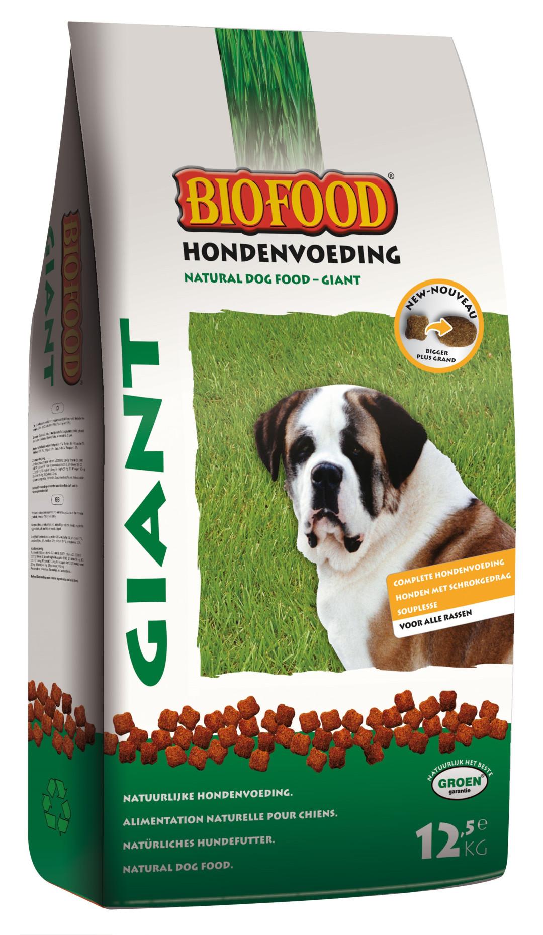 Biofood hondenvoer Giant 12,5 kg
