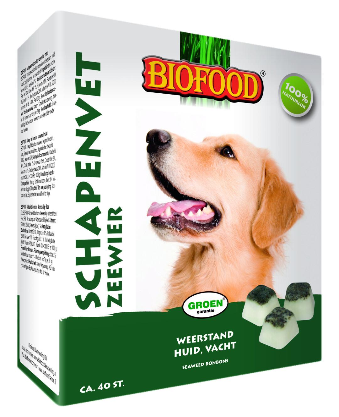 Biofood Schapenvet Zeewier 40 st
