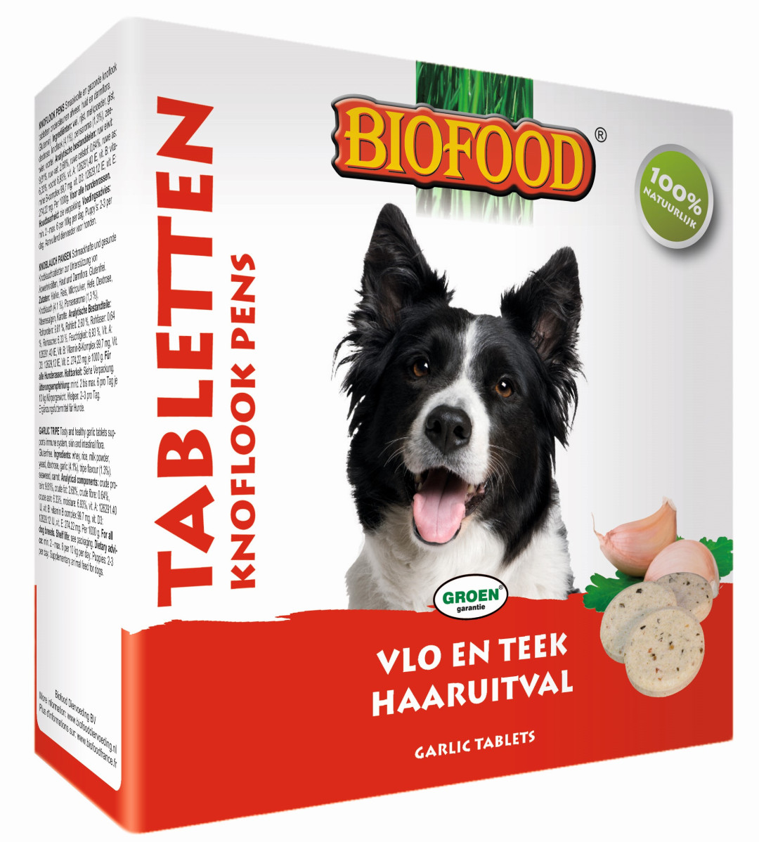 Biofood Anti-vlo tabletten Pens 55 st