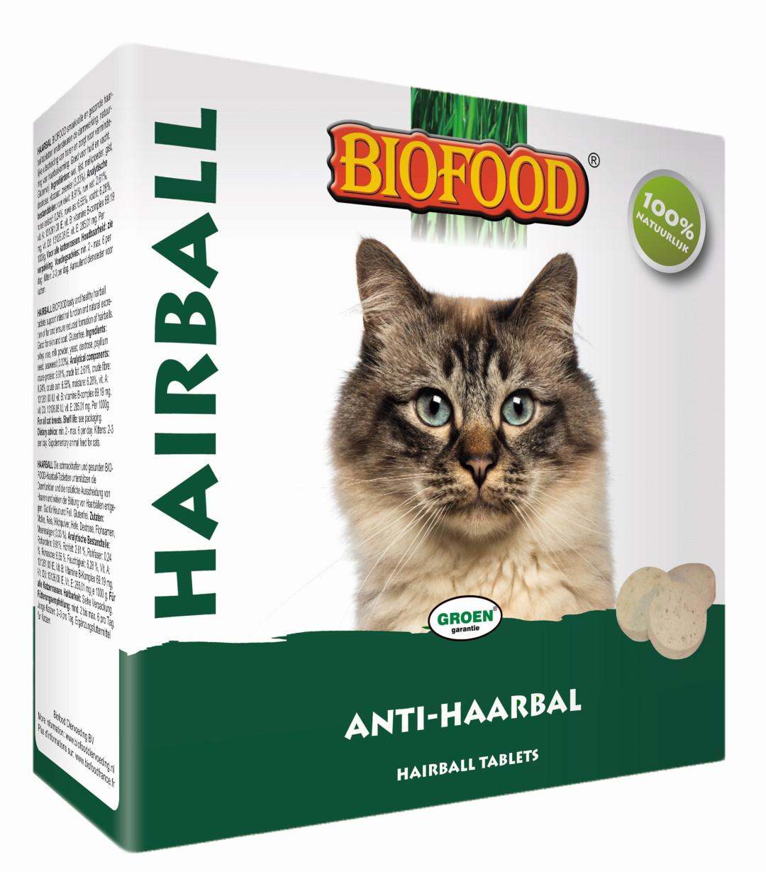 Biofood Hairball tabletten 100 st