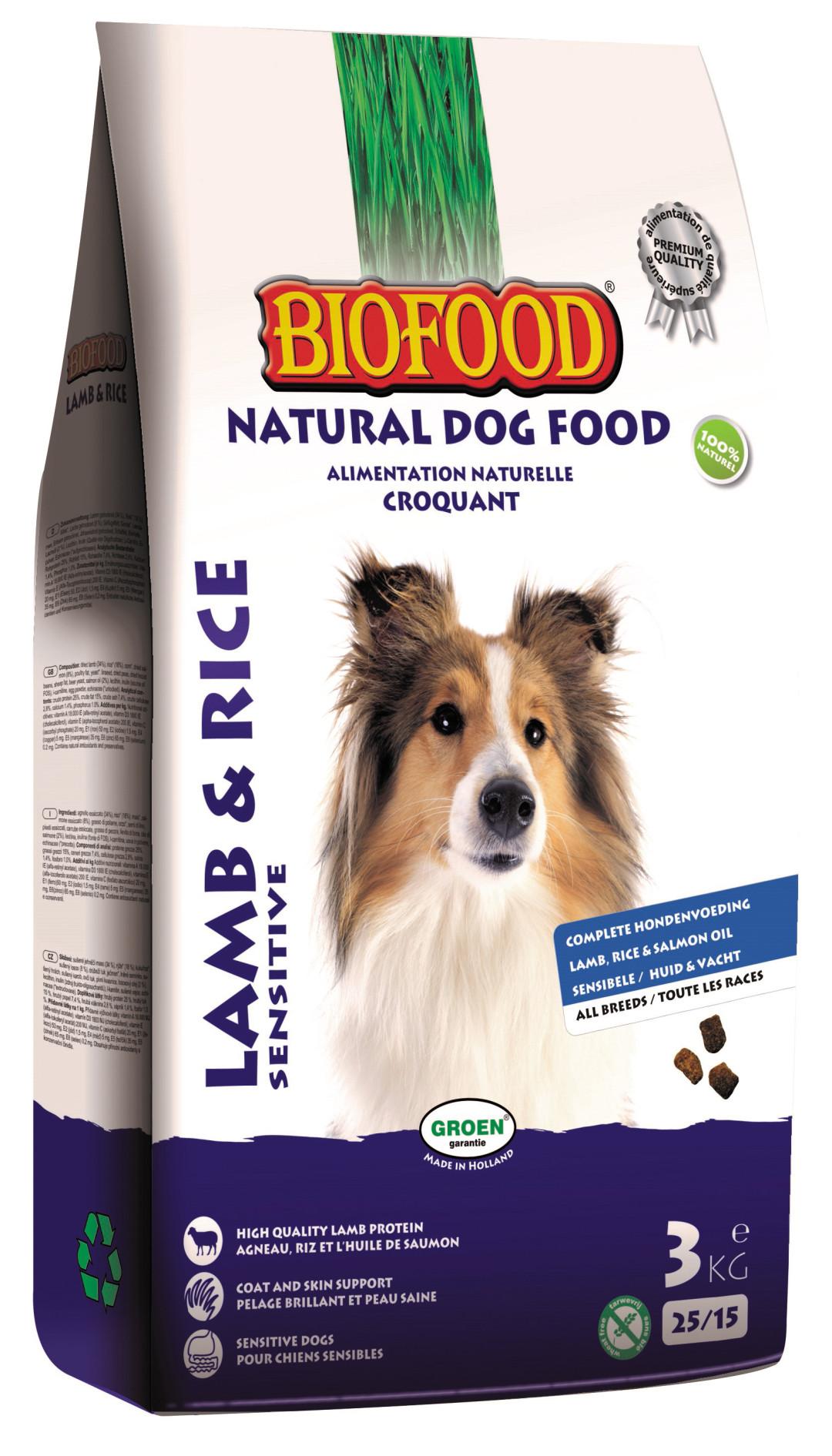 Biofood hondenvoer Lam & Rijst 3 kg