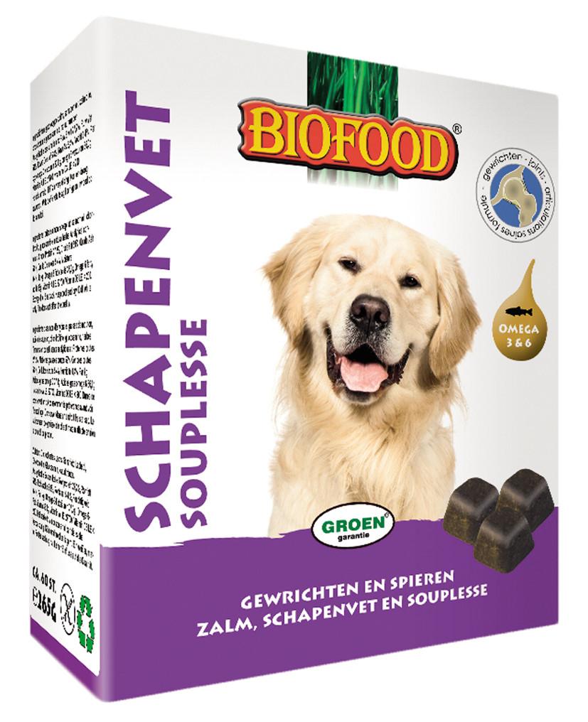 Biofood Schapenvet Souplesse 40 st
