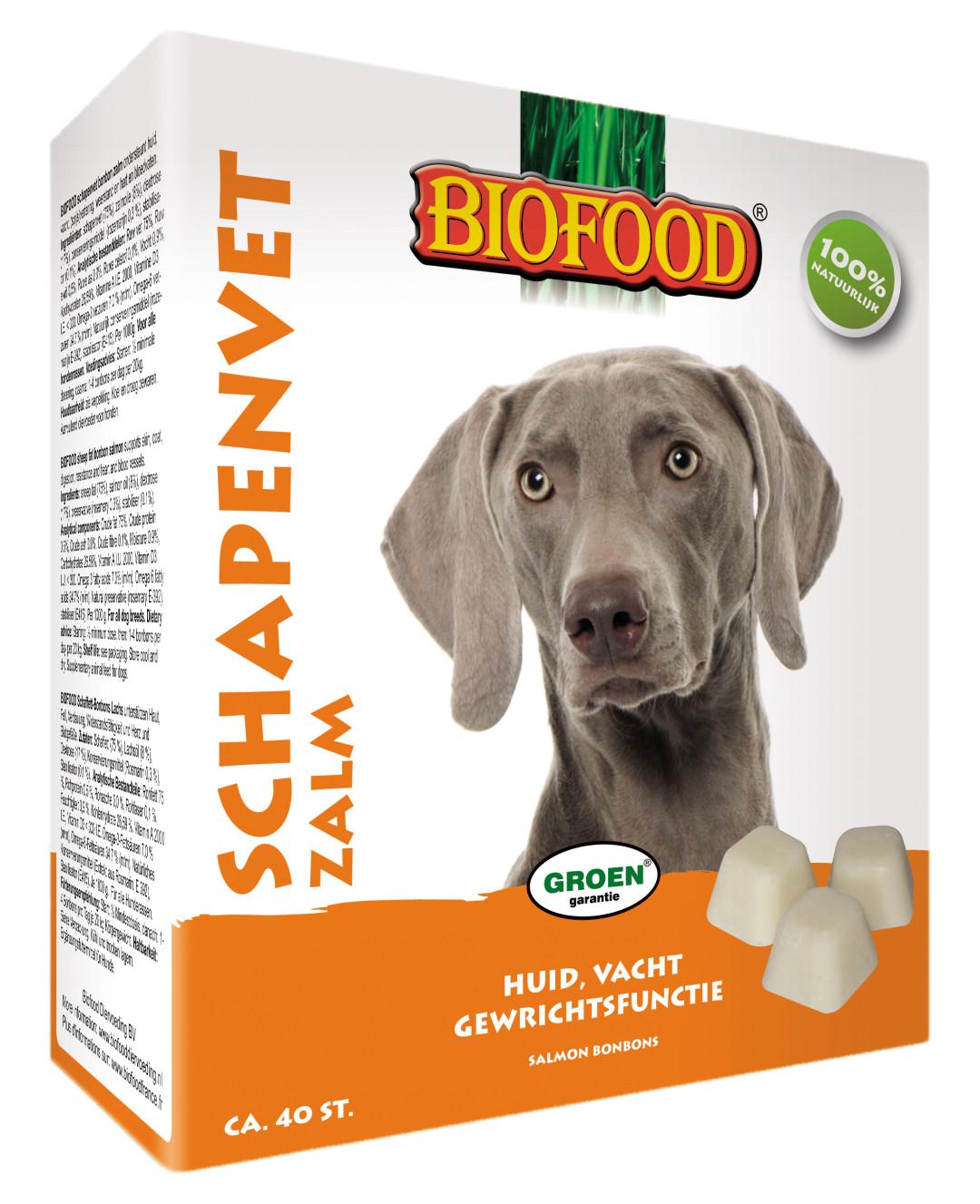 Biofood Schapenvet Zalm 40 st