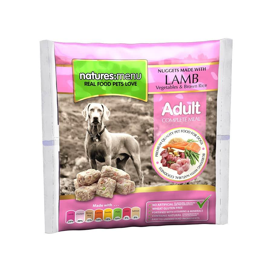 Natures Menu hondenvoer Frozen Lamb 1 kg