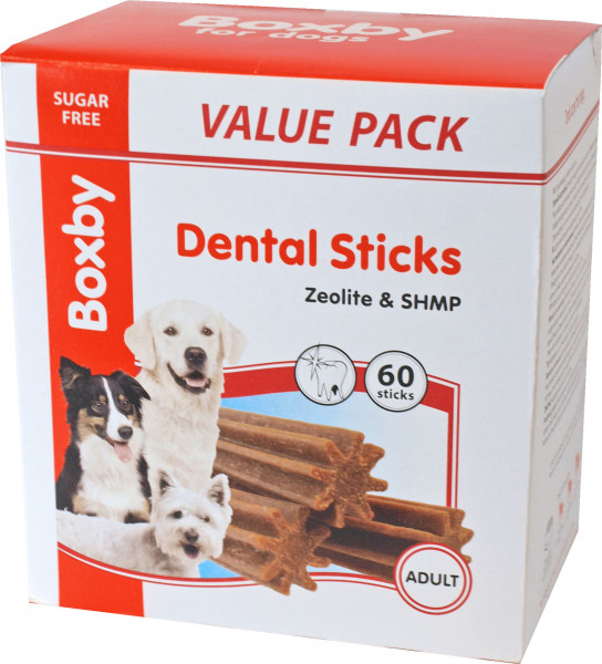 Proline Boxby 60 Dental Sticks medium
