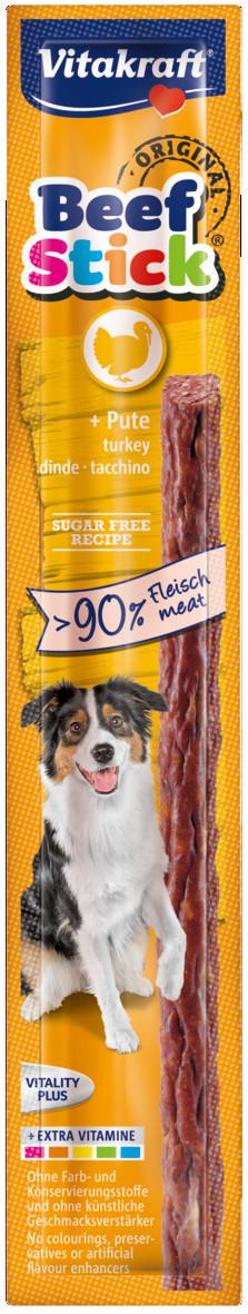 Vitakraft Beef Stick Original Kalkoen 12 gr