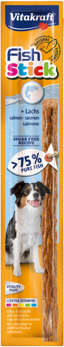 Vitakraft Fish Stick <br>zalm 15 gr