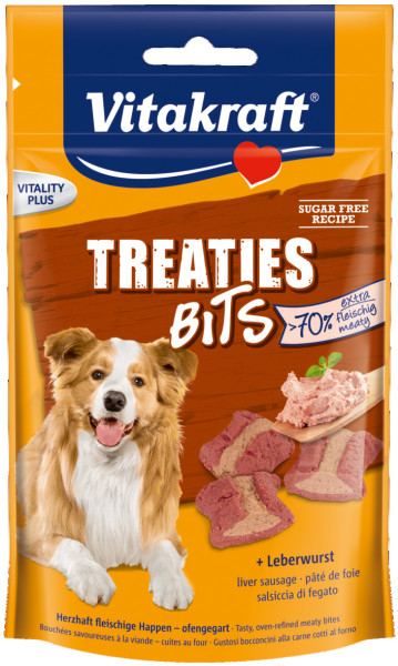Vitakraft Treaties Bits leverworst 120 gr