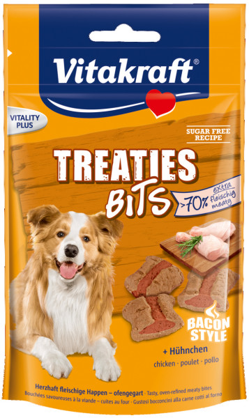 Vitakraft Treaties Bits Bacon Style 120 gr