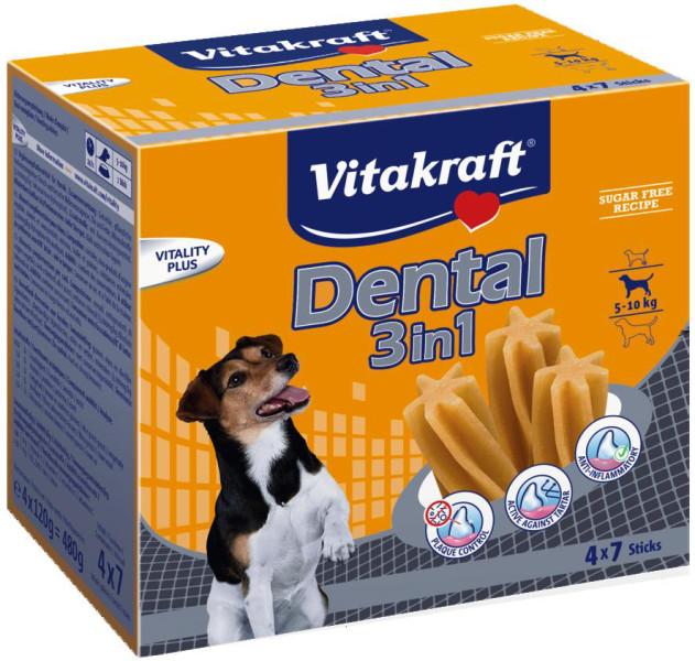 Vitakraft Multipack Dental 3in1 S 28 st