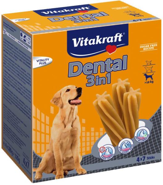 Vitakraft Multipack Dental 3in1 28 st