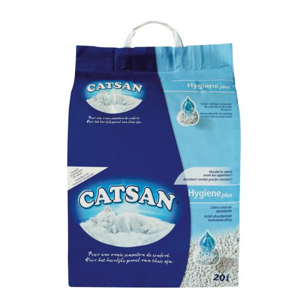 Catsan Hygiene Plus kattenbakvulling 20 ltr