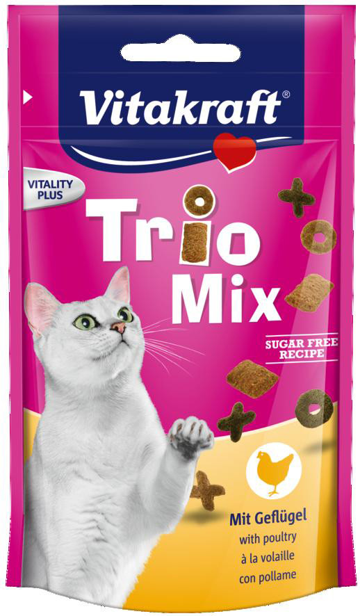 Vitakraft Trio Mix gevogelte 60 gr