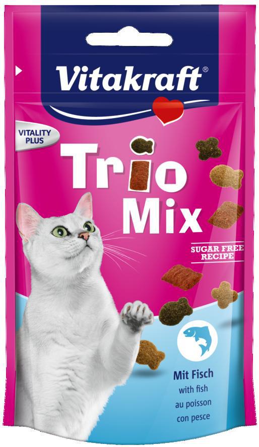 Vitakraft Trio Mix vis <br>60 gr