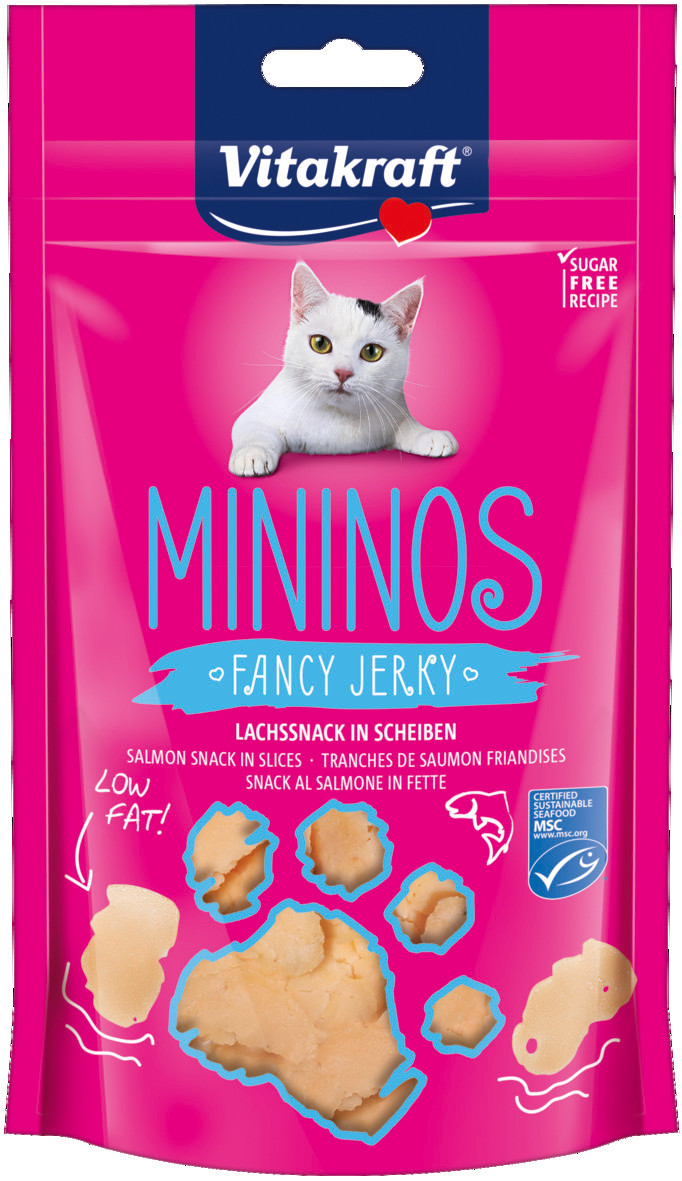 Vitakraft Mininos Fancy Jerky Zalm 40 gr
