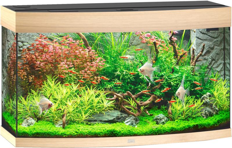 Juwel Vision aquarium 180 LED licht eiken