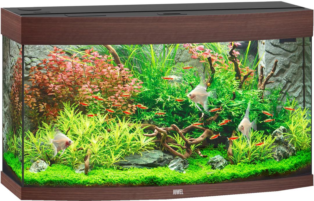 Juwel aquarium Vision 180 LED donkerbruin