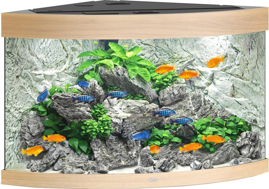 Juwel aquarium Trigon 190 LED licht eiken