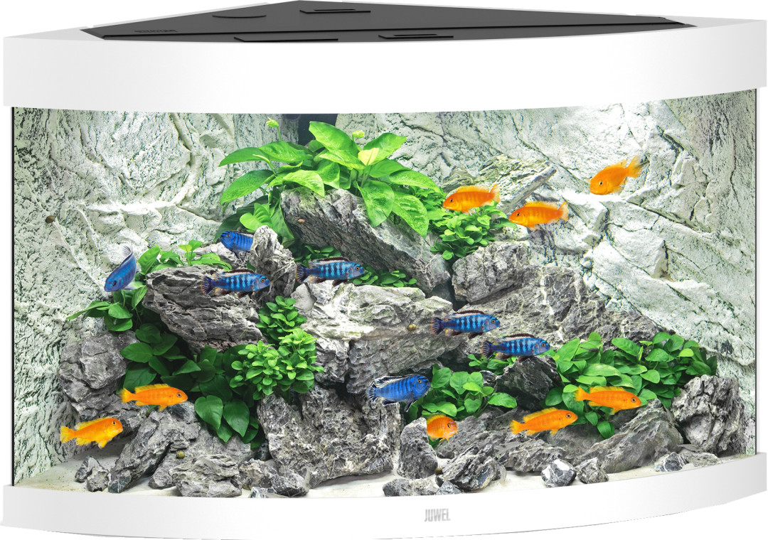 Juwel aquarium Trigon 190 LED wit
