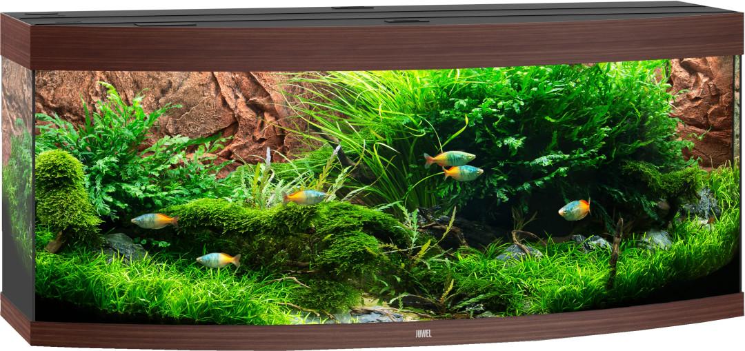 Juwel aquarium Vision 450 LED donkerbruin