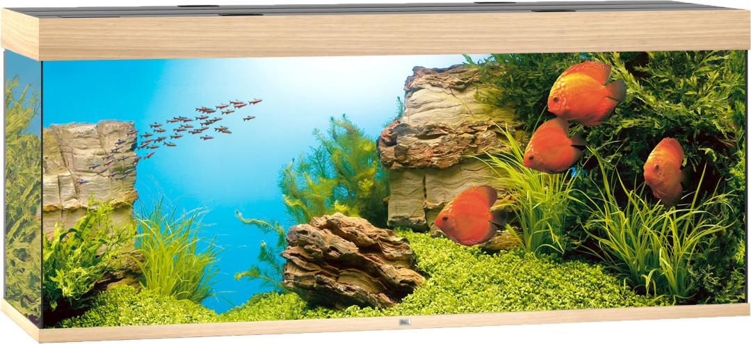 Juwel aquarium Rio 450 LED licht eiken