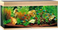 Juwel Rio aquarium 180 LED licht eiken thumb