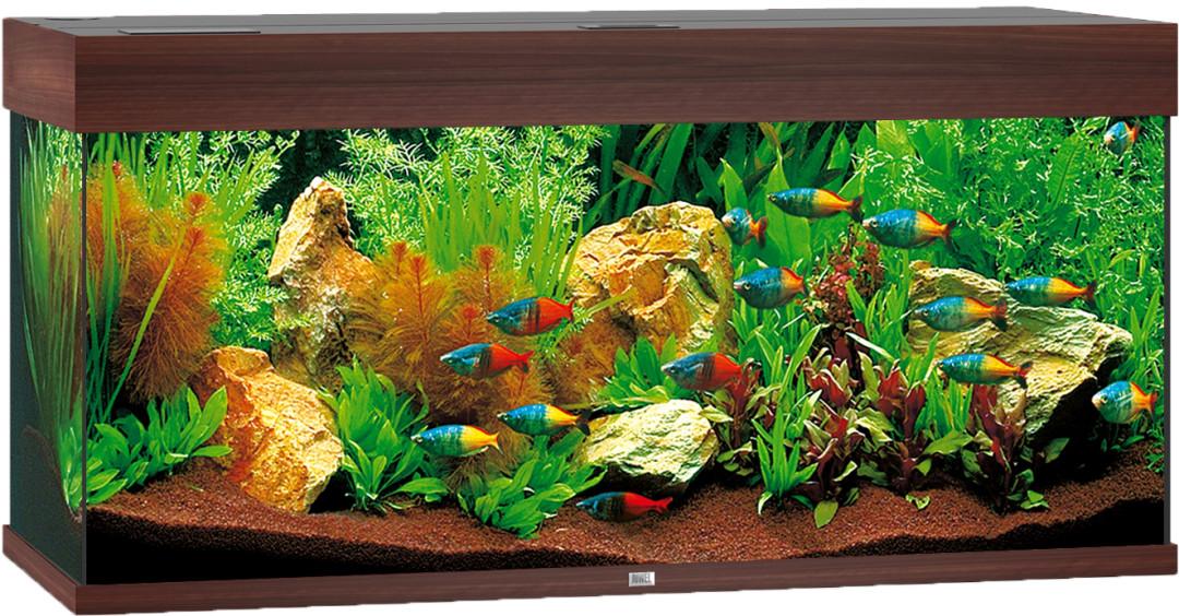 Juwel aquarium Rio 180 LED donkerbruin