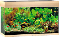 Juwel aquarium Rio 125 LED licht eiken thumb