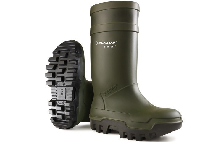 Dunlop - C662933 Thermo+ knielaars S5 groen