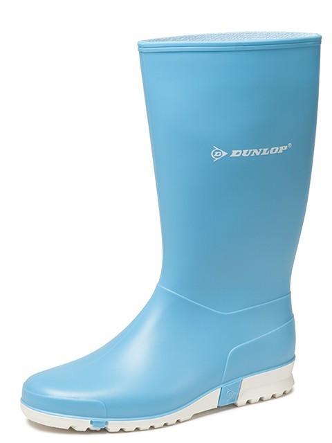 Dunlop - K255111 sportlaars PVC lichtblauw