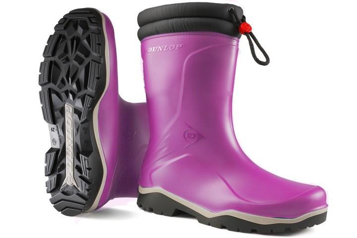 Dunlop - K374061 Blizzard kids winterlaars PVC roze