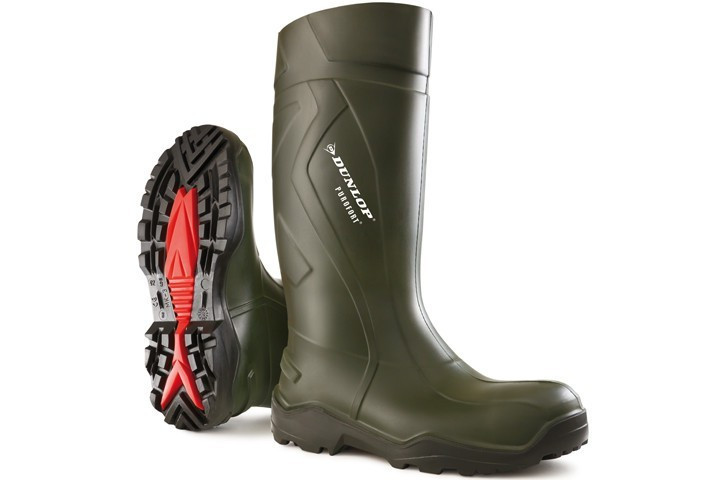 Dunlop - C762933 Purofort+ knielaars S5 groen