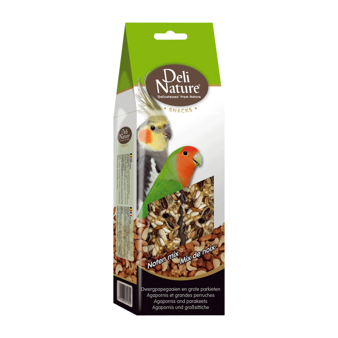 Deli Nature Snack Grote Parkiet Noten