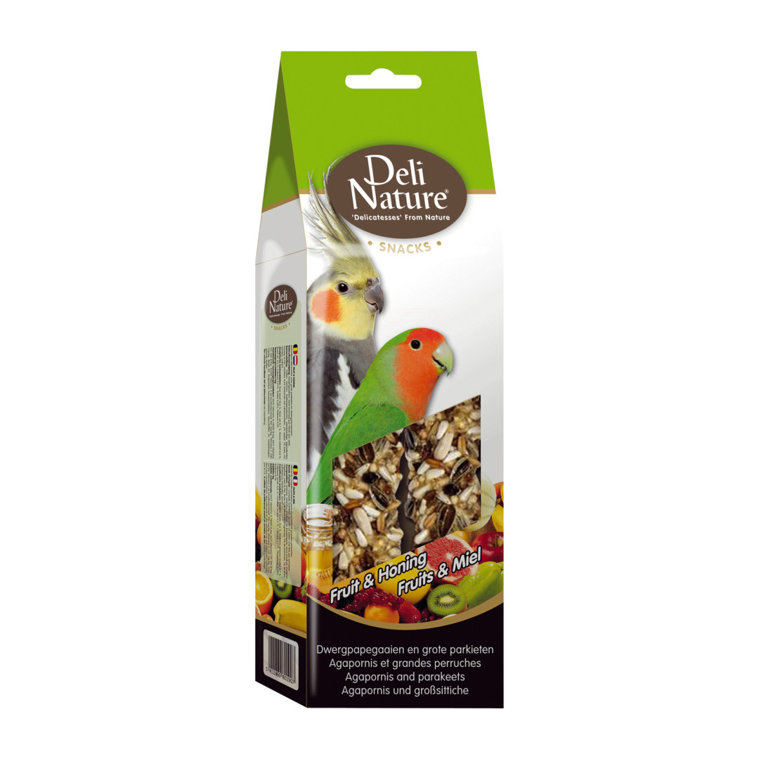 Deli Nature Snack Grote Parkiet Fruit