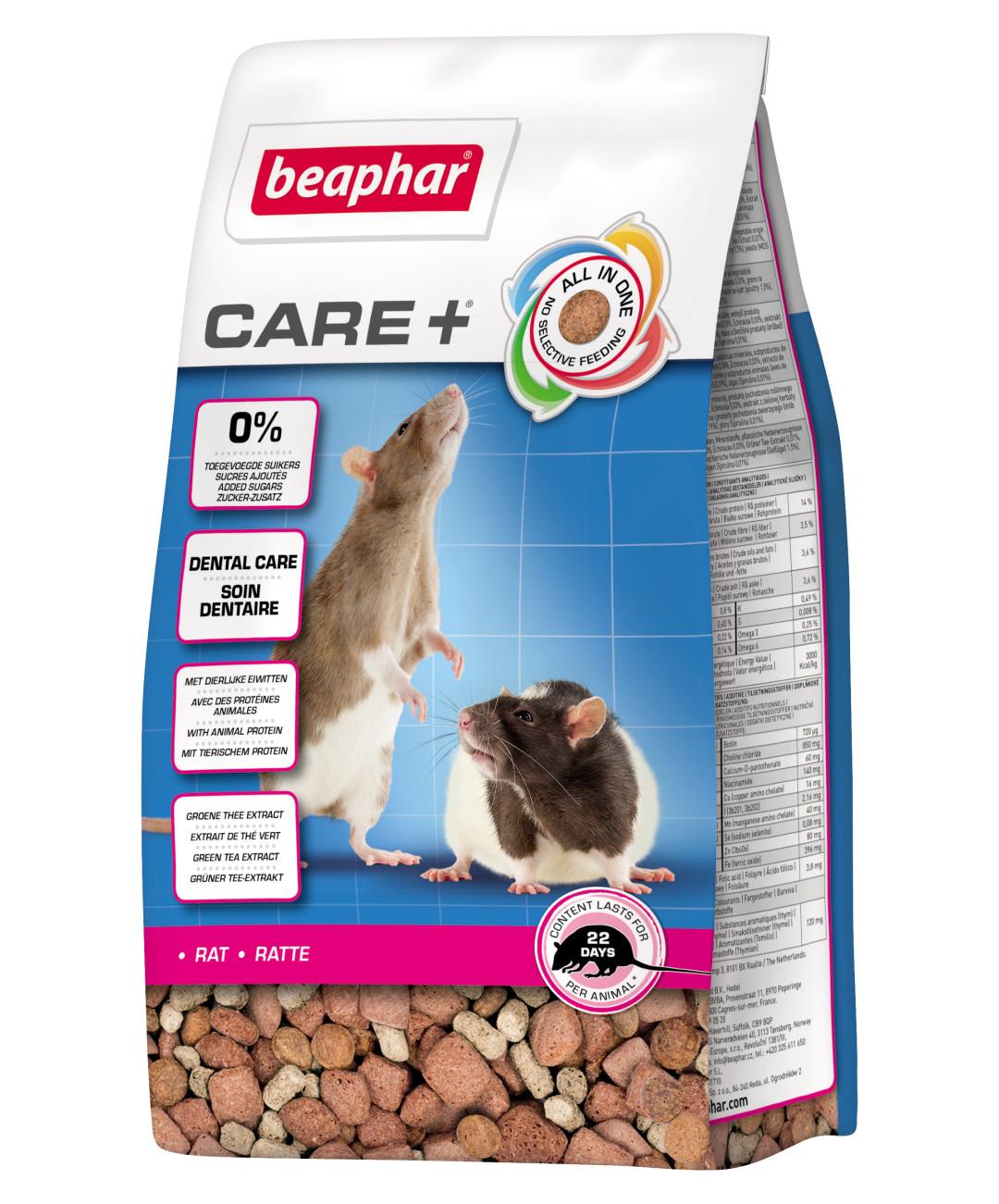 Beaphar Care+ rat <br>250 gr