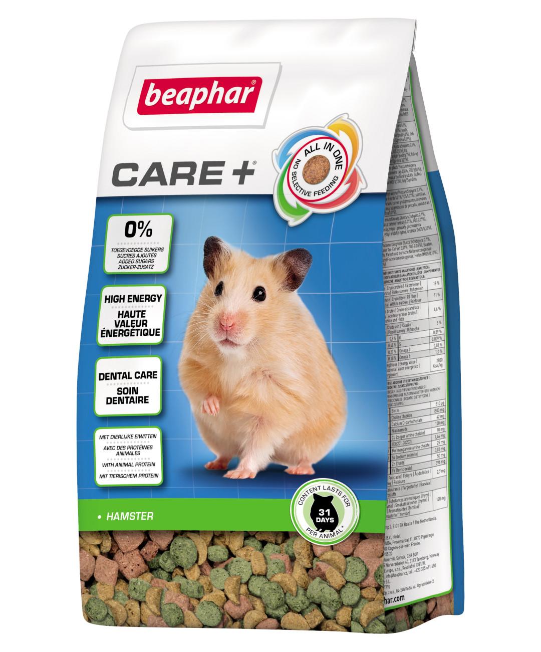 Beaphar Care+ hamster 250 gr