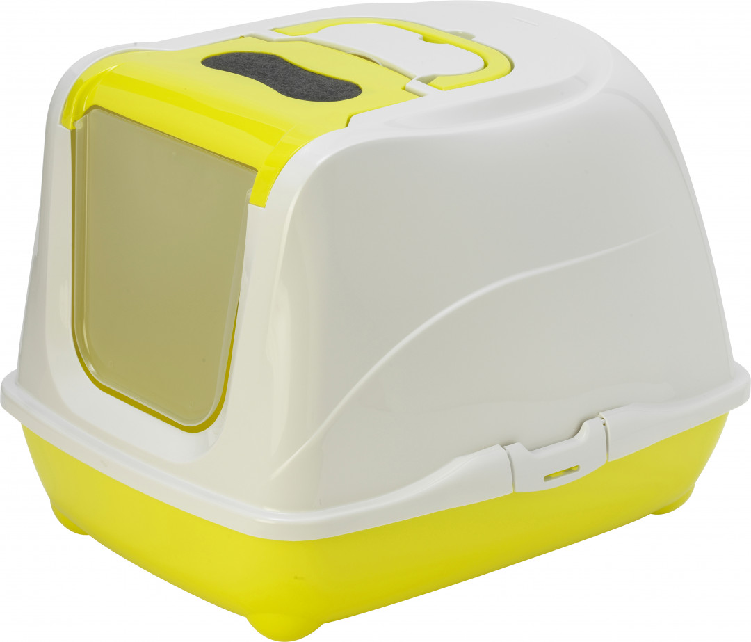 Moderna kattenbak Flip Cat XL yellow