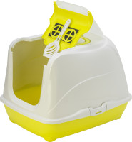 Moderna kattenbak Flip Cat XL yellow thumb
