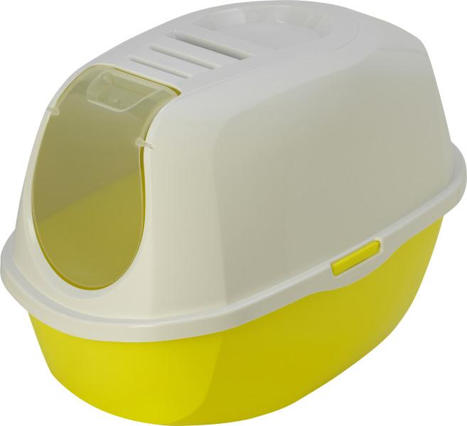 Moderna kattenbak Smart Cat geel/wit