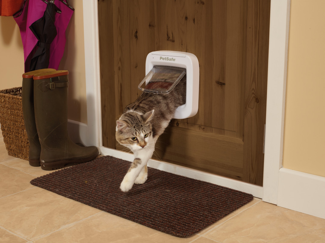 PetSafe Microchip kattenluik Cat Flap wit