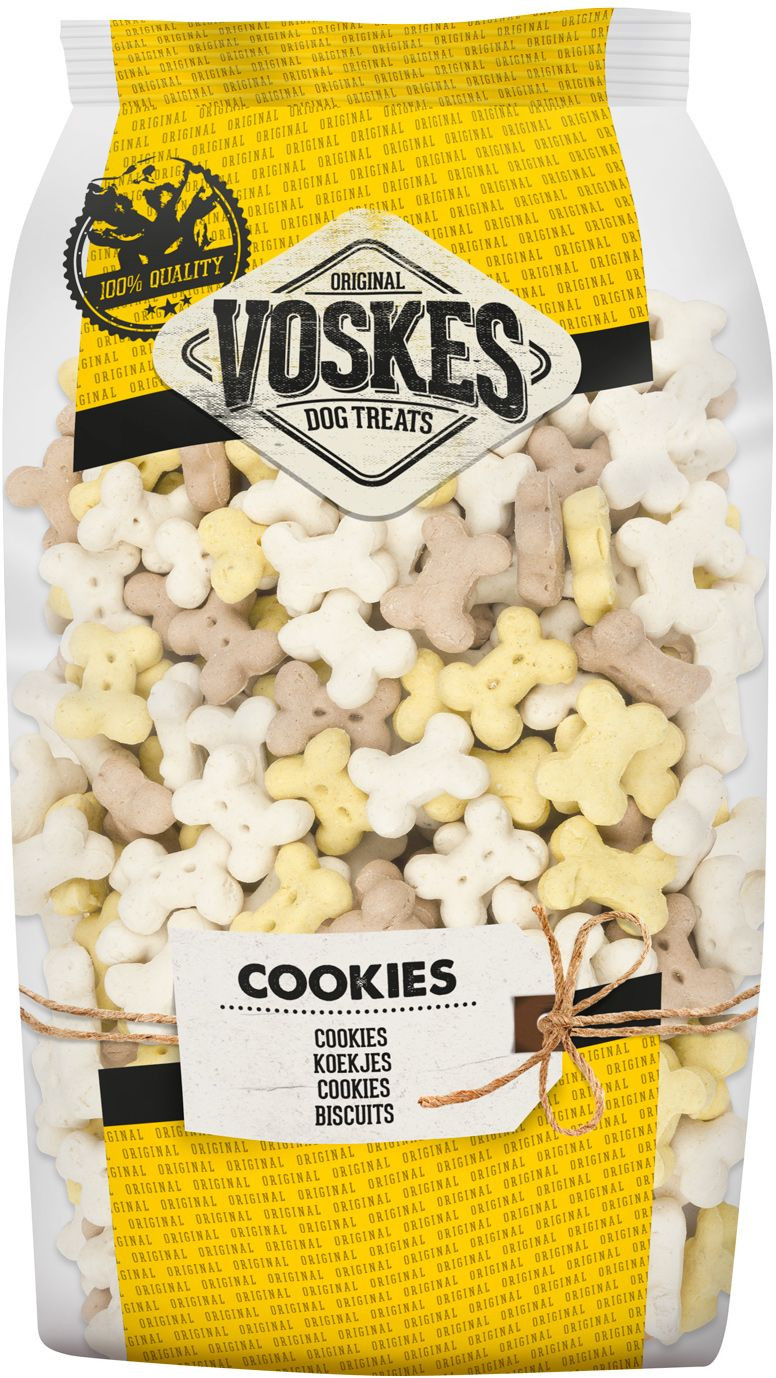 Voskes Mini Kluifjes Mix 750 gr