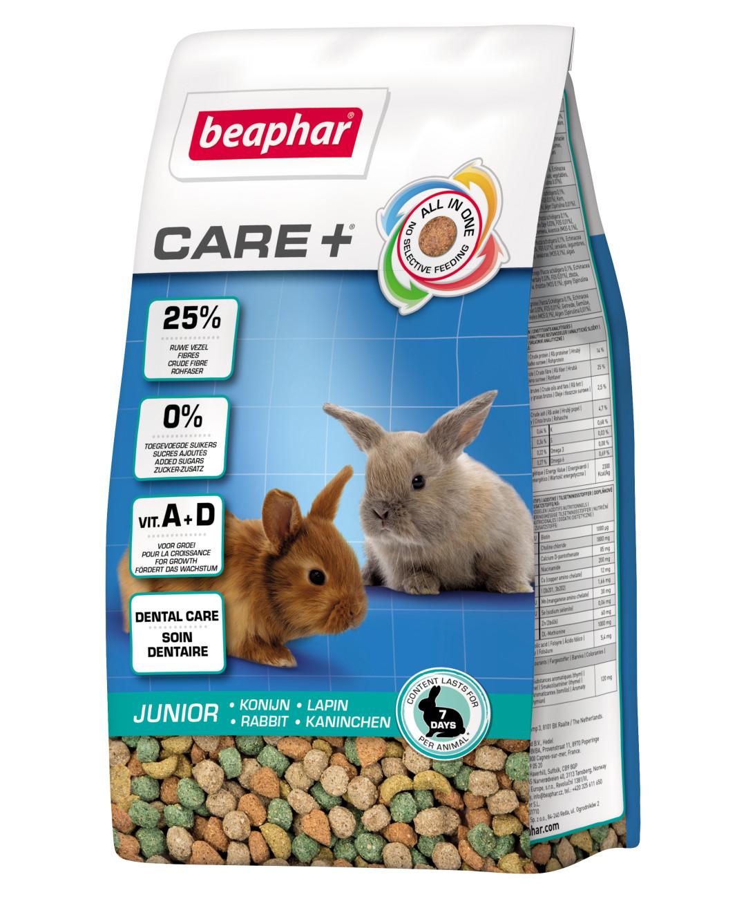 Beaphar Care+ konijn Junior 250 gr