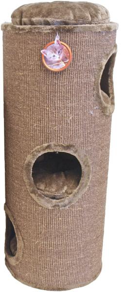 Krabton sisal 3-gaats mokka/bruin 100 cm