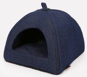51DN - Denim - Cathouse - 40x40x36cm - Cross - DarkBlue - 51SDMCH11 - (5420065816005) - Angle.jpg