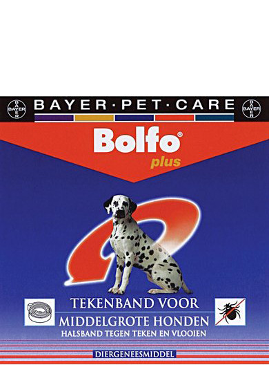 Bolfo Plus tekenband middelgrote hond