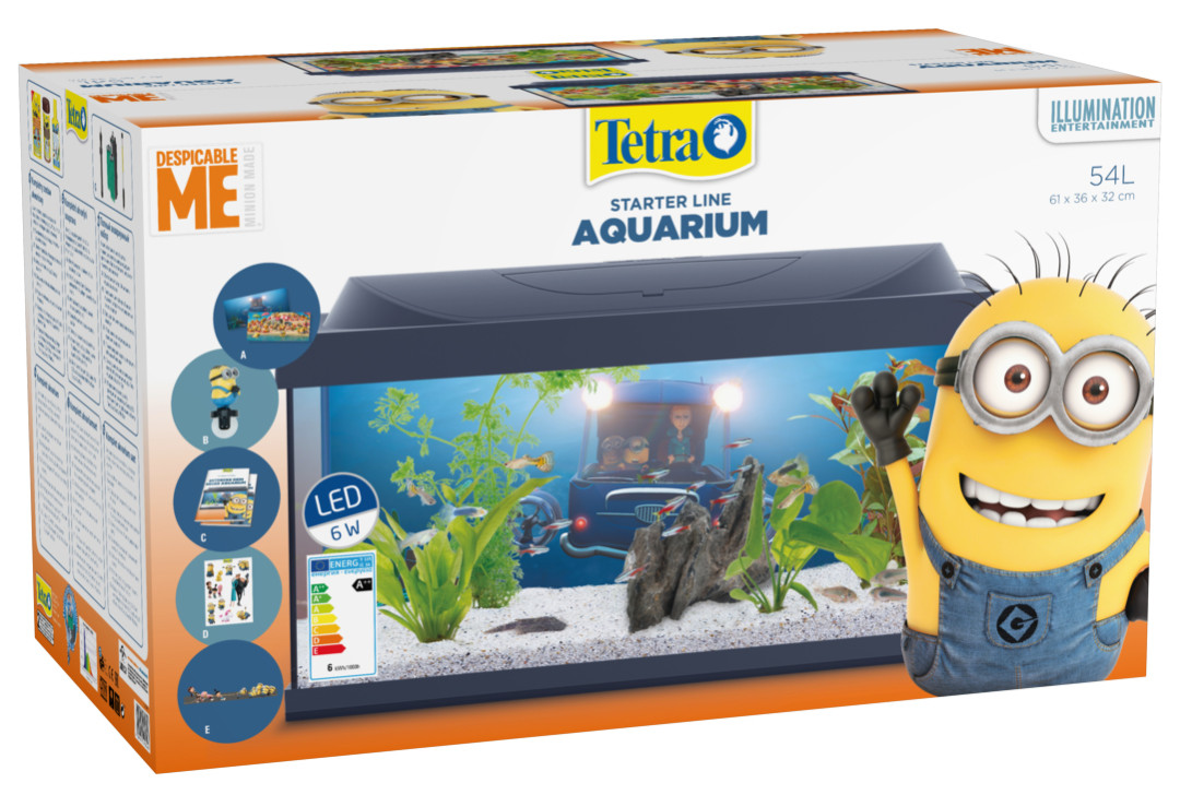 Tetra aquarium Minions LED 54 ltr