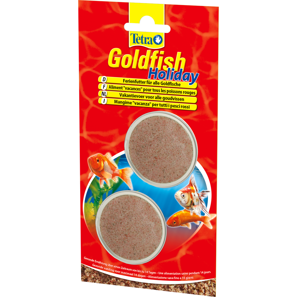 Tetra Goldfish Holiday <br>2 x 12 gr